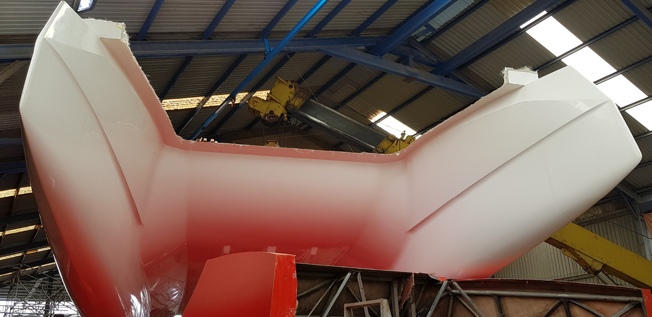 Max 42 hull from mould
